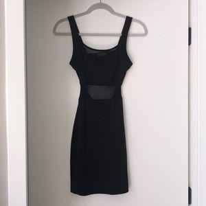 Black body on dress